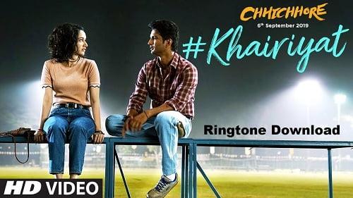 Khairiyat Song Ringtone Download