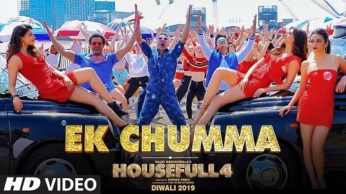 Ek Chumma Song's Mp3 RIngtone Download - Housefull 3