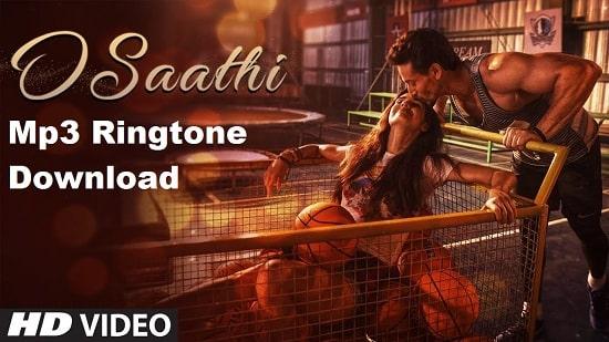 O Saathi Song's Ringtone Download - Baaghi 2's Mp3 Ringtone