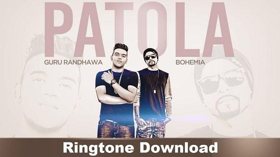 Patola Ringtone Download - Guru Randhawa's Mp3 Ringtone