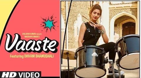 Vaaste Song's Mp3 Ringtone Download 2020 - Dhvani Bhanushali