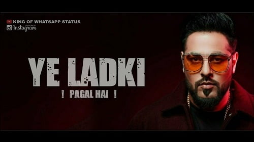 Ye Ladki Pagal Hai Mp3 Ringtone Download - Badshah