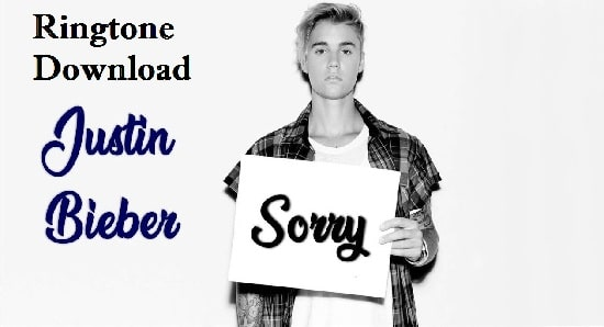 Sorry Song Ringtone Download - Mp3 Mobile Free Ringtones