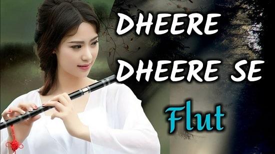 Dheere Dheere Se Flute And Instrumental Ringtone