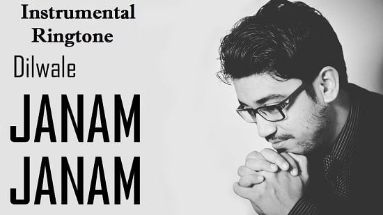 Janam Janam Instrumental Ringtone Download - Flute Free Mobile Tones