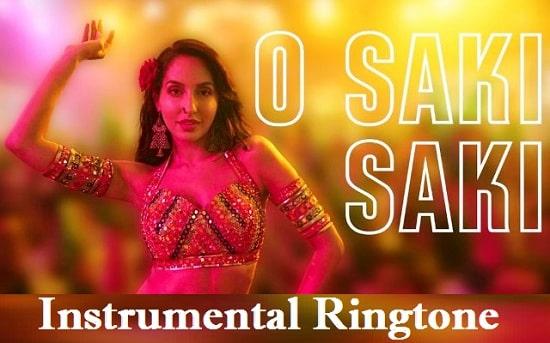 O Saki Saki Instrumental Ringtone Download - Flute And Violin Tones