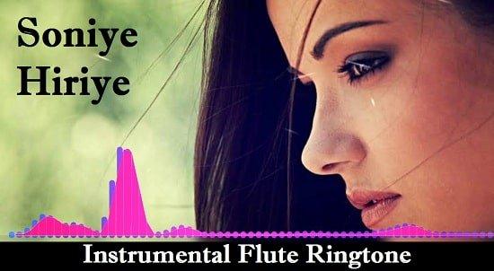 Soniye Hiriye Teri Yaad Instrumental Ringtone Download - Flute Mp3 Tones