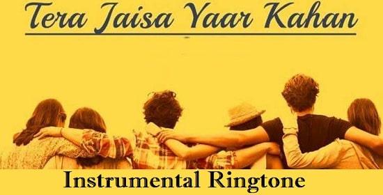 Tere Jaisa Yaar Kahan Instrumental Ringtone Download - Flute Tones