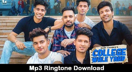 College Wale Yaar Song Ringtone Download - Jass Manak And Guri
